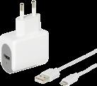 VIVANCO Charger - Alimentation électrique - Pour Apple - Blanc