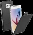 VIVANCO 36281 - Klapptasche - Für Galaxy S6 - Schwarz