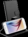 VIVANCO 36283 - Flip-Hülle - Für Galaxy S6 - Schwarz