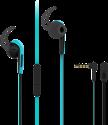 VIVANCO Sport-Ohrhörer mit Mikrofon, blau