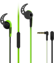 VIVANCO Sport-Ohrhörer mit Mikrofon, grün