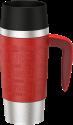 emsa TRAVEL MUG Handle - Mug isotherme - 360 ml - Rouge