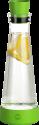 emsa FLOW Slim Friends - Karaffe mit Kühlstation - 1 l - Grün/Transparent