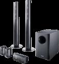 CANTON Movie 1050.2 - 5.1 Lautsprecher-System - 33 - 25000 Hz - Schwarz