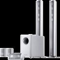 CANTON Movie 1050.2 - 5.1 Lautsprecher-System - 33 - 25000 Hz - Silber