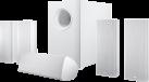 CANTON Movie 365 - 5.1 Lautsprecher-System - 33 - 25000 Hz - Weiss