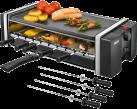UNOLD Grill und Kebab - Elektrogrill - 1200 Watt - Wendbare Grillplatte - Schwarz