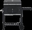 tepro Toronto Click - Barbecue Charbon - Jauge de température - Noir