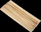 tepro Set di kebab di bambù - 50 Pezzi - Marrone