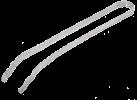 tepro Edelstahlzange - 38 cm - Silber