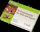 tepro Briquet en bois et huile de colza - 32 Pièces - Brun