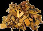 tepro Räucherchips aus Kirschholz - 1 kg - Braun