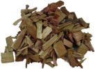 tepro Hickory chips - 1 kg - Marrone