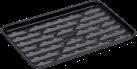tepro Grillschale - 34.5 x 22.5 cm - Schwarz