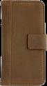 SCUTES DELUXE Universal Booklet Case, für 4.0-5.0, braun