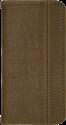 Booklet Case Luca croco, für Samsung Galaxy S7, braun