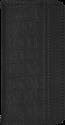 Booklet Case Luca croco, für Samsung Galaxy S7, schwarz