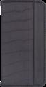 Booklet Case Luca croco, für Samsung Galaxy S7 edge, schwarz