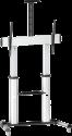 my wall UNI100 HP 102 - TV Standfuss - für 60-100 - Silber/Schwarz