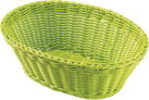 saleen Brotkorb oval, lime