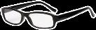 hama Filtral Lesehilfe, Kunststoff, schwarz, +2.5 dpt