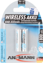 ANSMANN maxE Wireless Batteria 2 x AAA NiMH 800 mAh
