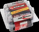 ANSMANN Micro Batterie 20 x AA Alkalisch