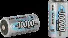 ANSMANN Batterie 2 x D NiMH 10000 mAh