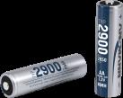 ANSMANN 2900 - 2x 2650 mAh - Argent