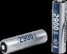 ANSMANN 2900 - 4x 2650 mAh - Silber