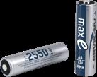 ANSMANN 2550 - 4x 2400 mAh - Silber