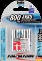 ANSMANN maxE Batterie 4 x AAA NiMH 800 mAh