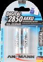 ANSMANN Digital Batterie 2 x AA NiMH 2850 mAh