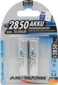 ANSMANN Mignon Batterie 2 x AA NiMH 2850 mAh