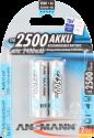ANSMANN maxE plus Batterie 2 x AA NiMH 2500 mAh