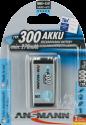 ANSMANN maxE plus Batterie 1 x 9V NiMH 250 mAh