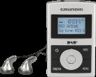 GRUNDIG Micro 75 DAB+ - Digitalradio - Silber / schwarz