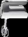 GRUNDIG HM 6280 W - Handmixer - 4 Geschwindigkeitsstufen und Turbostufe - Weiss/Edelstahl