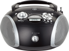 GRUNDIG RCD 1445 USB - Radio CD - Tuner UKW - Nero / argento