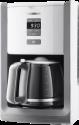 GRUNDIG KM 7280 W - Kaffeemaschine - 1.8 l - Weiss / Edelstahl