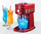 NOSTALGIA ELECTRICS SNC 30 - Slush- &Crushed-Ice – Maker - Perfekt als Durstlöscher für den Sommer - Rot