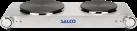 SALCO SKP-3200 - Piano cottura - 1500 W/1000 W - Acciaio inox