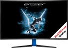 MEDION ERAZER X58426 (MD 21426) - Gaming Monitor - 31.5 / 80.1 cm - Schwarz/Blau