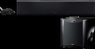 Yamaha YSP-5600 SW - Soundbar mit Subwoofer und Wirelesskit - Bluetooth/Airplay/WiFi - schwarz