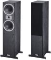 Magnat Tempus 55 - 2,5 Wege Bassreflex-Standlautsprecherpaar - 24 - 45.000 Hz - Schwarz