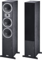 Magnat Tempus 77 - 3-Wege Bassreflex-Standlautsprecherpaar - 22 - 45.000 Hz - Schwarz