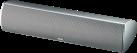 Magnat Needle Alu Super Center - 2-Wege Center-Lautsprecher - Doppelbass - Silber