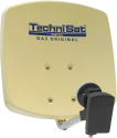 TechniSat DIGIDISH 33 - Antenne satellite numérique haute performance - Beige