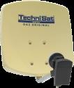TechniSat DIGIDISH 33 - Hochleistungs-DigitalSat-Antenne - Beige