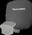 TechniSat MULTYTENNE DUOSAT - Hochwertige DigitalSat-Antenne - Grau